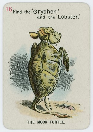 The Mock Turtle by John Tenniel (1820-1914, United Kingdom)