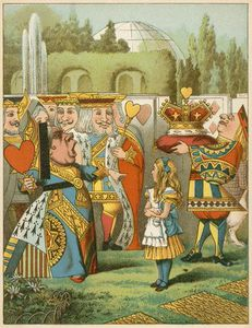 John Tenniel - The Queen Said Severely 'who Is This