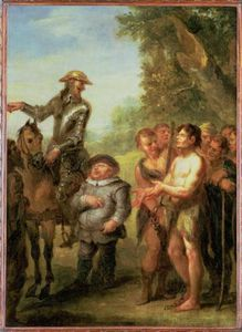 John Vanderbank - Don Quixote Frees The Galley Slaves, From Cervantes' 'don Quixote