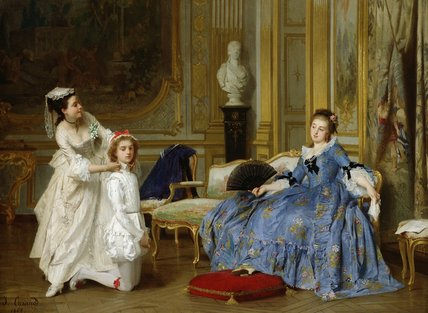 Dressing Up by Joseph Caraud (1821-1905, France) | Museum Quality Reproductions | WahooArt.com