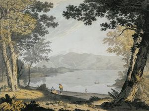 Joseph Farington - View Of Skiddaw And Derwentwater