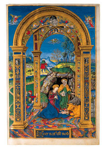 Joseph Henry Sharp - Missal, In Latin, Illuminated Manuscript On Vellum