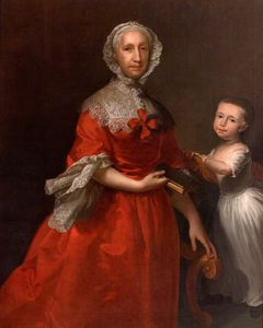 Joseph Highmore - Isabella Lee And Her Grandson, William Waller