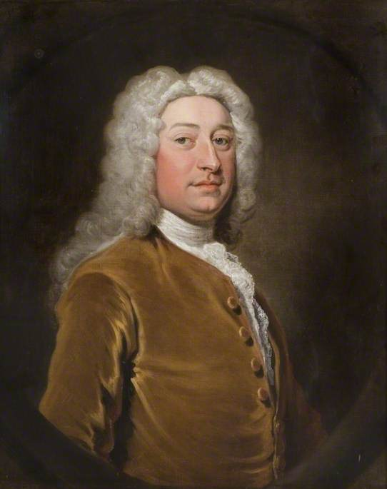 John Whitehall Of Furnivall`s Inn by Joseph Highmore (1692-1780, United Kingdom) | Famous Paintings Reproductions | WahooArt.com