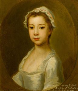 Joseph Highmore - Mary Russell, Daughter Of Colonel Charles Russell