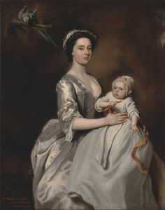 Joseph Highmore - Mrs. Sharpe And Her Child