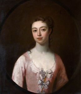 Order Museum Quality Reproductions : Portrait Of A Lady In Pink by Joseph Highmore (1692-1780, United Kingdom) | WahooArt.com