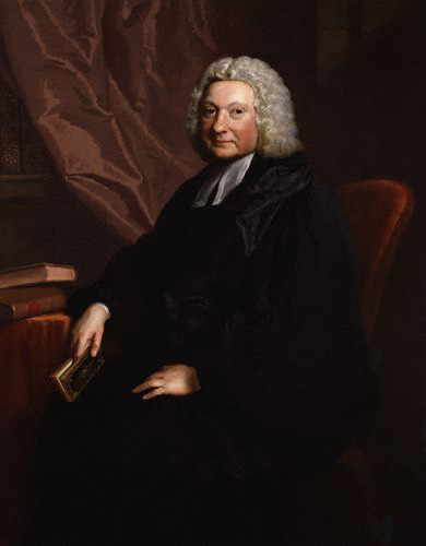 Portrait Of Henry Stebbing by Joseph Highmore (1692-1780, United Kingdom) | Art Reproduction | WahooArt.com