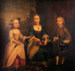 Joseph Highmore - Portrait Of Three Children