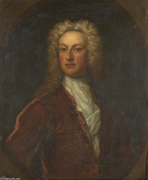Sackville Tufton by Joseph Highmore (1692-1780, United Kingdom) | Oil Painting | WahooArt.com
