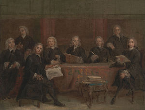 Joseph Highmore - Study For A Group Portrait