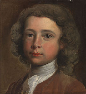 Joseph Highmore - The Head Of A Young Boy