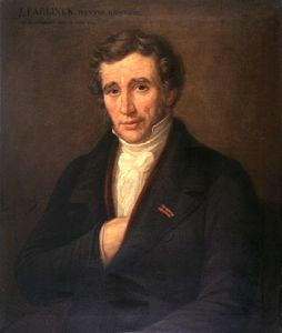 Joseph Paelinck - Portrait Of Painter Joseph Paelinck