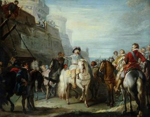 Joseph Parrocel - King Charles I At The Gates Of Hull