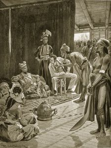 Richard Caton De Woodville - Sir James Brooke In Borneo