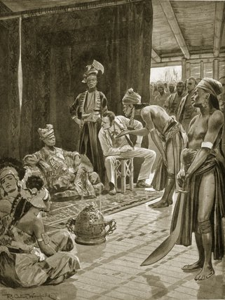 Sir James Brooke In Borneo by Richard Caton De Woodville (1856-1927, United States) | WahooArt.com