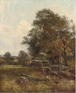 William Frederick Witherington - A Summer's Afternoon On The Farm