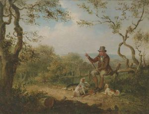 Samuel John Egbert Jones - Pheasant Shooting - Reloading