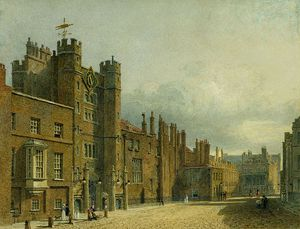 Charles Wild - St James-s Palace, North Front