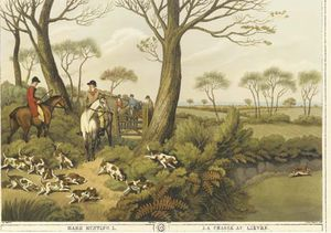 Buy Museum Art Reproductions | Orme`s Collection Of British Field Sports - Eight Plates by Samuel Howitt (1756-1822, United Kingdom) | WahooArt.com