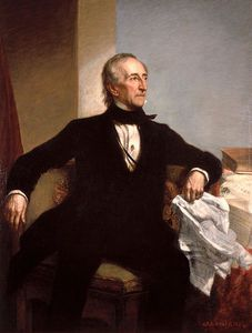 George Peter Alexander Healy - Official White House Portrait Of John Tyler