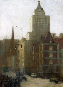 Aaron Harry Gorson - 57th Street At Fifth Avenue