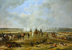 Adam Albrecht - Napoleon And His Troops At Beshenkovichi, 24th July