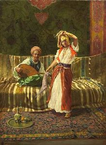 Addison Thomas Millar - Arab Dancing Girl
