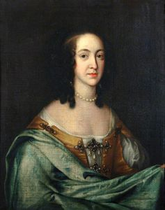 Adriaen Hanneman - The Wife Of The First Duke Of Bolton