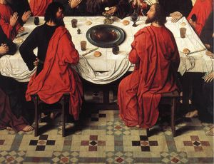 Aelbrecht Bouts - The Last Supper (detail)_6