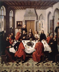 Aelbrecht Bouts - The Last Supper