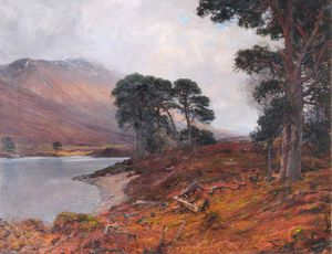 Alexander Brownlie Docharty - Loch Tulla And Ben Doran