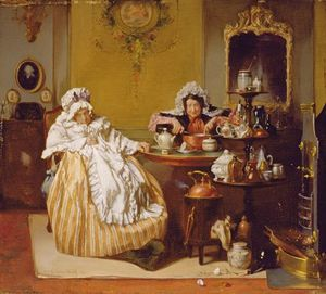 Alexander Hugo Bakker Korff - High Tea
