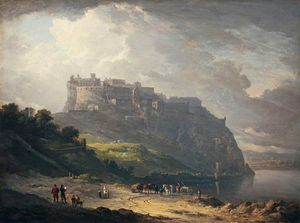 Alexander Nasmyth - Edinburgh Castle And The Nor' Loch