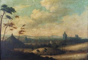 Alexander Nasmyth - Old Aberdeen From The South West