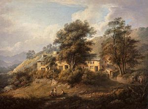 Alexander Nasmyth - The Old Cottage At Elery In Westmoreland