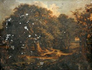 Alexander Nasmyth - Trees And Stream