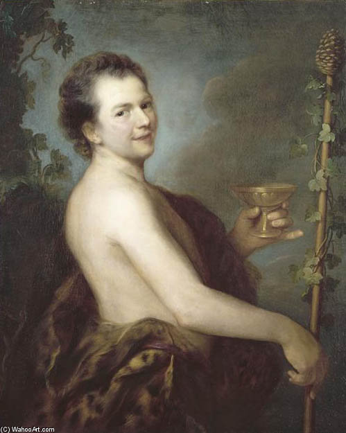 Order Art Reproductions | Self-portrait by Alexis Grimou (1678-1733, France) | WahooArt.com