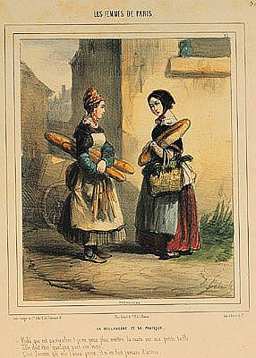 The Baker''s Art by Alfred Andre Geniole (1813-1861)