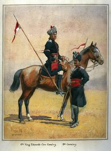 Alfred Crowdy Lovett - Soldiers Of The 6th Edward's Own Cavalry And The