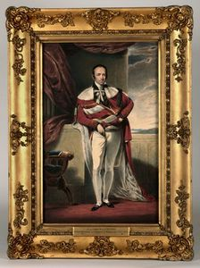 Order Art Reproduction : Portrait Of Robert Grosvenor, 2nd Earl Grosvenor by Alfred Edward Chalon (1780-1860, Switzerland) | WahooArt.com
