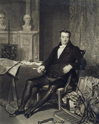 Thomas Clarkson by Alfred Edward Chalon (1780-1860, Switzerland)