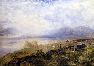 Alfred William Hunt - Harlech Castle -