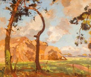 Algernon Talmage - Hampshire Countryside