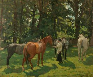 Algernon Talmage - The Old Hunter