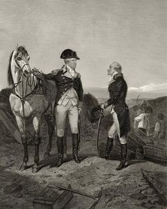 Alonzo Chappel - First Meeting Of George Washington And Alexander