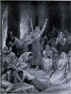 Ambrose Dudley - The Rajput Ceremony Of Jauhar