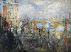 Ambrose Mcevoy - View From The Adelphi, London