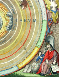 Andreas Cellarius - An Astronomer, Detail From A Map Of The Planets