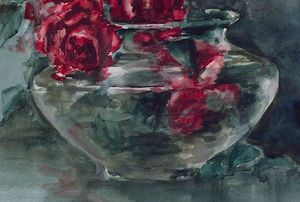 Anna Althea Hills - Red Roses (detail)